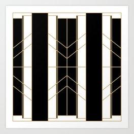 Black & Gold - Art Deco Kunstdrucke