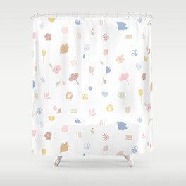 Flowers for Leticia Shower Curtain