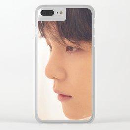 Suga / Min Yoon Gi - BTS Clear iPhone Case