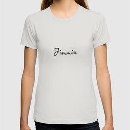 Jimmie Calligraphy T-shirt