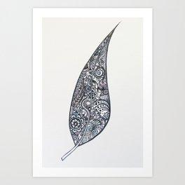 Sailing in the breeze Art Print