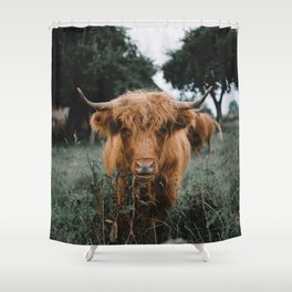 Highlander  Shower Curtain