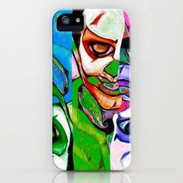 Evil Trippy Clown iPhone Case