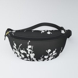 Pussywillow Design | Black • White Fanny Pack