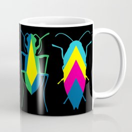 beetle brooches Coffee Mug