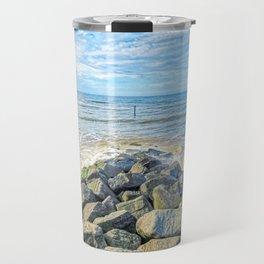 Cromer Beach, U.K Travel Mug