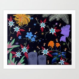 graveflies Art Print