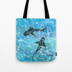 friendly waters Tote Bag