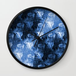 The Sound Barrier in Blue..... Wall Clock