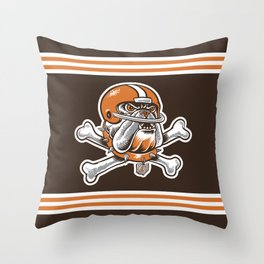 For My Dawgs Throw Pillow