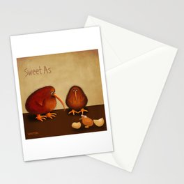 New arrival baby girl - sweet as Stationery Cards