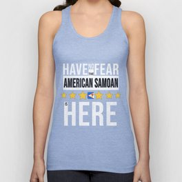 Have No Fear The American Samoan Is Here Unisex Tank Top