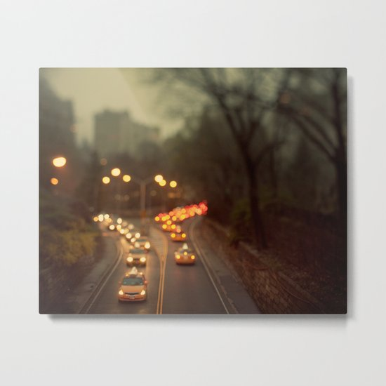 Taxicab Confessions - New York Metal Print