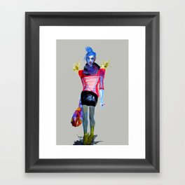 Models Ink 13 Framed Art Print