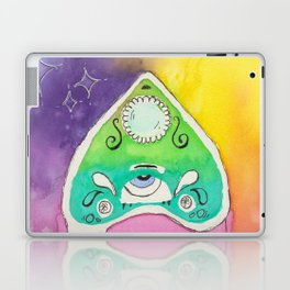planchette ouija drippy Laptop & iPad Skin