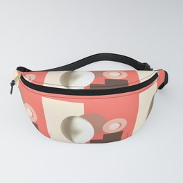 Ab ovo living coral Fanny Pack