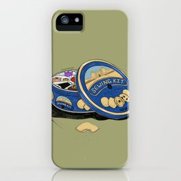 Sewing Kit iPhone Case