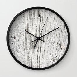 Painted wood Wall Clock