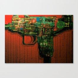 Uzi Canvas Print