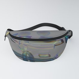 New Diffraction POV Ray Tracing Fanny Pack