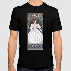 Sarah Nouveau - Labyrinth Mens Fitted Tee Black MEDIUM