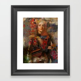 Melody  for Elodie Framed Art Print
