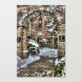 Winter Apartment Canvas Print