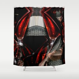 The Glass Gown Shower Curtain