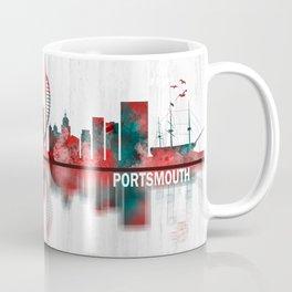 Portsmouth England Skyline Coffee Mug