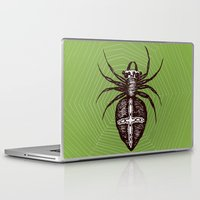 spider Laptop & iPad Skins featuring Spider by Bwiselizzy