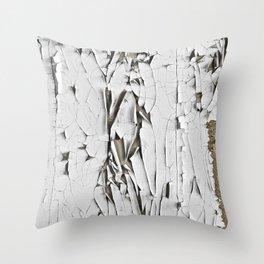 /crackle. Throw Pillow