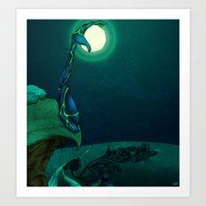 Boulder Holder Art Print