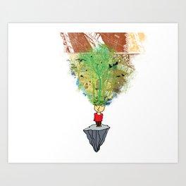 open mind Art Print