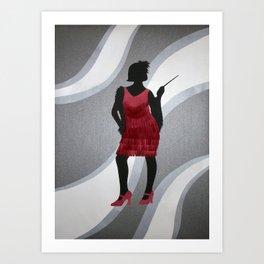 Razzle Dazzle Art Print