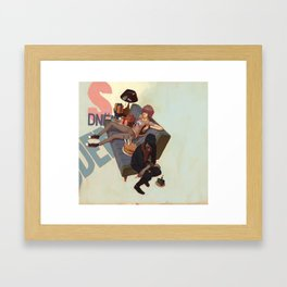 H_B_R_A Framed Art Print