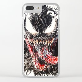 We are Venom (Tom Hardy) Clear iPhone Case