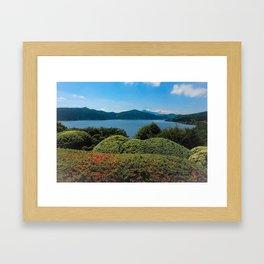 Ashinoko to Fujisan Framed Art Print