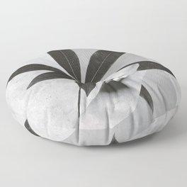collage art / calmness  2 Floor Pillow