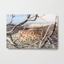 Mesas of New Mexico Metal Print