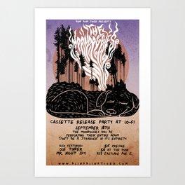 The Moondoggies Concert Poster Art Print
