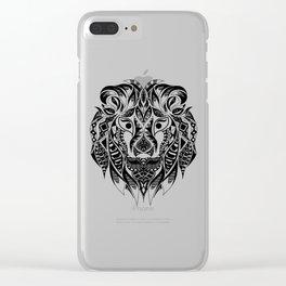 Mr Lion Ecopop Clear iPhone Case