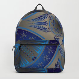 Blue Fire Spirit Backpack