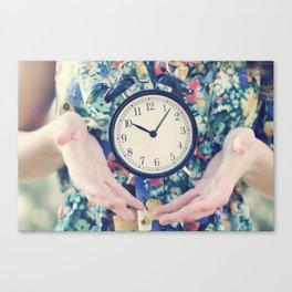 Time Flies Canvas Print