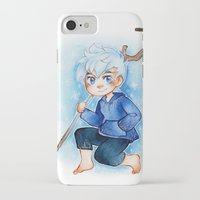 jack frost iPhone & iPod Cases featuring Jack Frost by noCek
