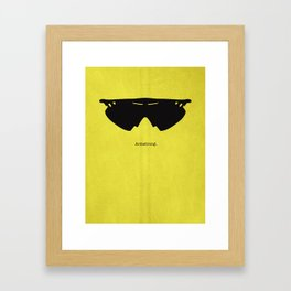 Armstrong Spectacles Framed Art Print