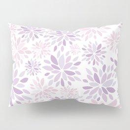 Nature's Healing Mandala Pastel Pink Pillow Sham