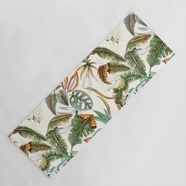 Watercolor tropical nature Yoga Mat