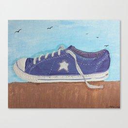 Impression of a Shoe Canvas Print