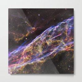 Veil Nebula Supernova Remnant Metal Print