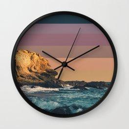 Colorscape VII Wall Clock